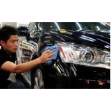 polimento e cristalização automotivo