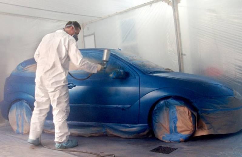 Oficina Funilaria e Pintura Freguesia do Ó - Pintura em Carros