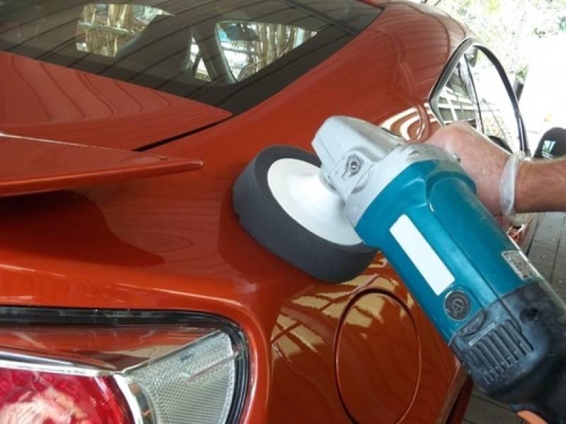 Onde Encontro Polimento e Cristalização de Farol Alphaville - Polimento para Autos